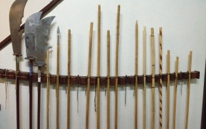 Weapons Rack - Staff