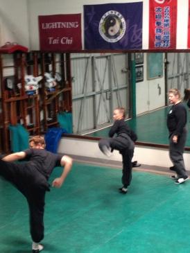Brea Shaolin Kung Fu Circle Kicks