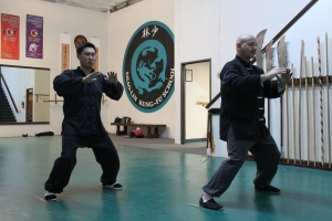 Brea Shaolin Kung Fu - Training In The Heat
