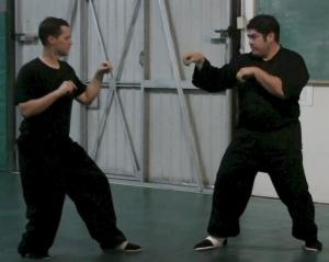 Brea Shaolin Kung Fu Sparring