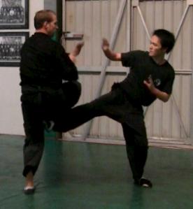 Brea Shaolin Sparring