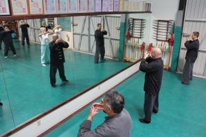 Brea Shaolin Kung Fu - Using the Mirror