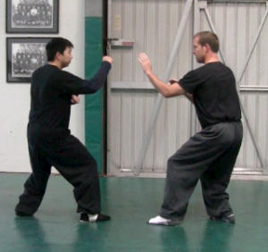 Brea Shaolin Kung Fu - Sparring